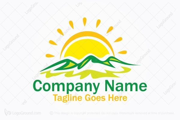Logo for sale: Sunny Hills Logo