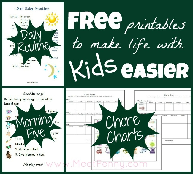 104 Best Chore Charts Images On Pinterest