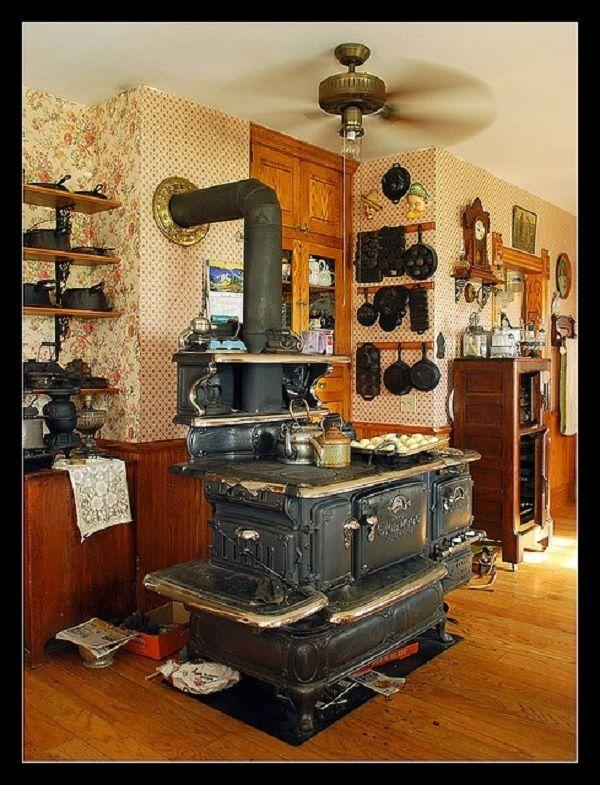 Vintage Coal and Wood Stoves! Wood Coal Burner