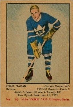 1951-52 Parkhurst rookie