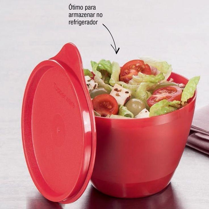 Tupperware Caçulinha 400ml Vermelha - Quer Comprar Tupperware Online? Loja Mundo Tupperware