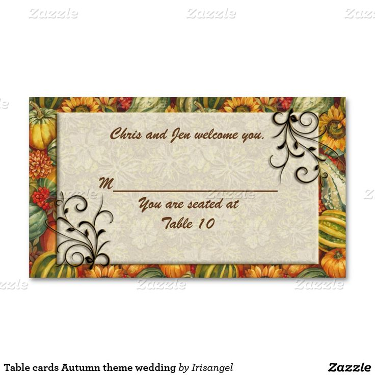 43 best Autumn wedding invitations images on Pinterest | Fall ...