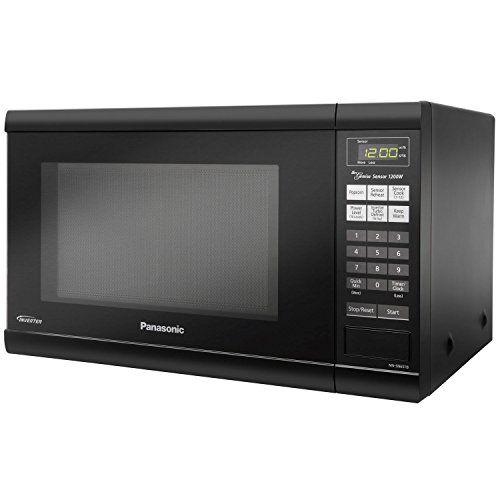 Panasonic Inverter Technology Countertop Microwave Oven Nn Sn651b Black