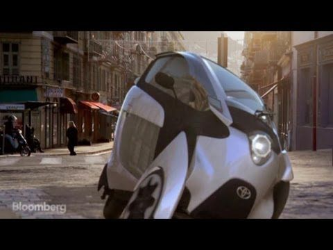 Toyotas Three Wheeled Car Gets Tested On The Hill