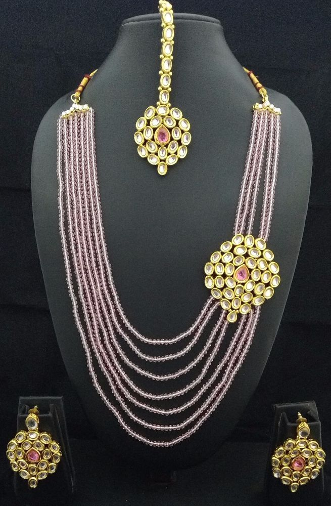 Latest Indian fashion jewellery wedding party kundan Baby