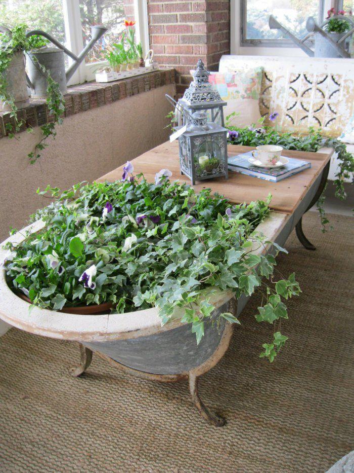 90 deko ideen zum selbermachen f r sommerliche stimmung im for Gartenideen vorgarten