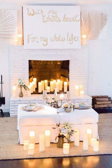A Romantic Surprise Proposal Idea