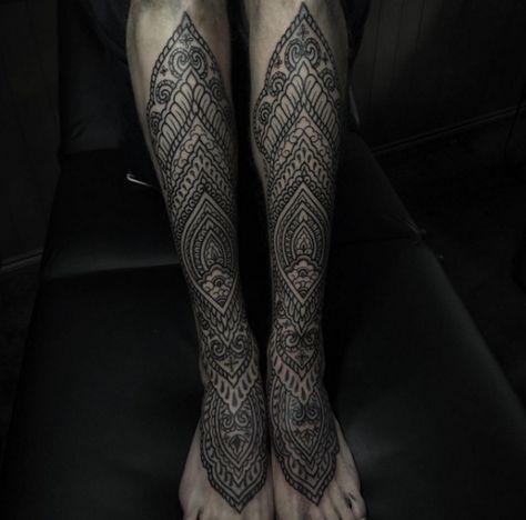 maori tattoo schienbein und fuss pinterest. Black Bedroom Furniture Sets. Home Design Ideas