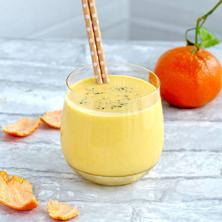 With immune-boosting vitamin C, fueling fiber, and 10 grams of protein, this smoothie will make you feel like awinner.
