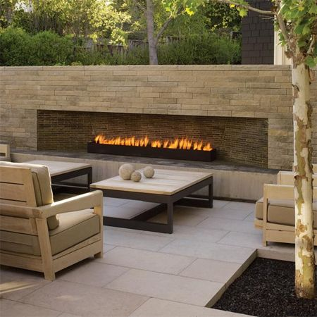 diy build outdoor fireplace