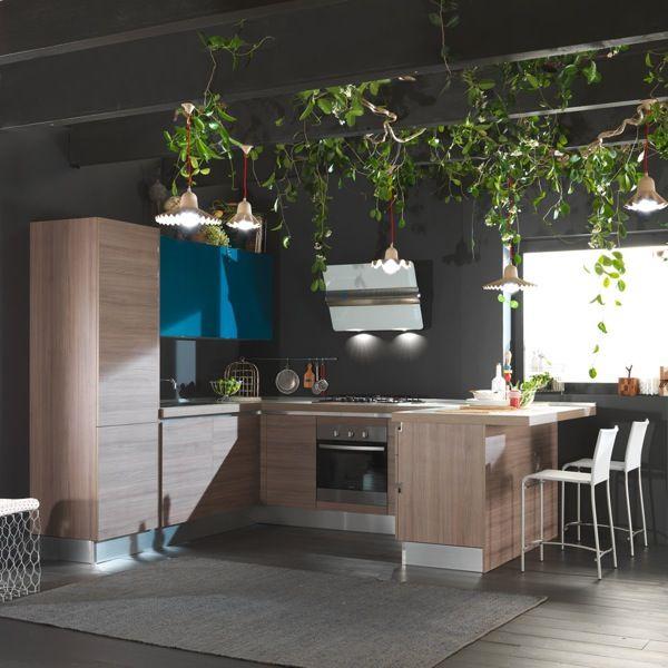 31 best idee cucina images on Pinterest Kitchen ideas, Kitchen - stein arbeitsplatte küche