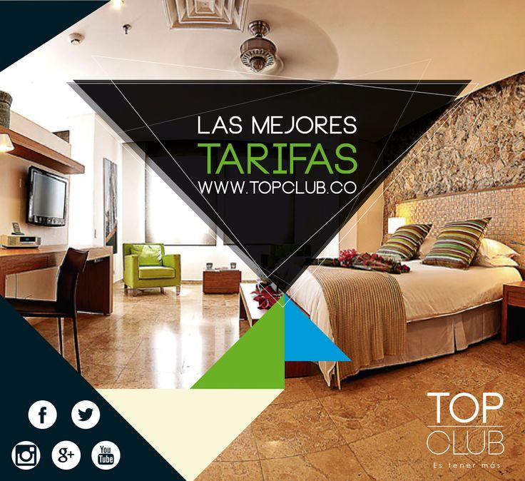 Recuerda que en www.topclub.co encuentras miles de ofertas todos los días que te permiten ahorrar sin límite de uso en cada reserva que hagas.  #Ahorro #Descuento #topclubsas #Turismo #Viajes