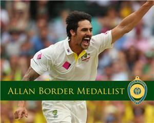 2014 Allan Border Medal Winner Mitchell Johnson