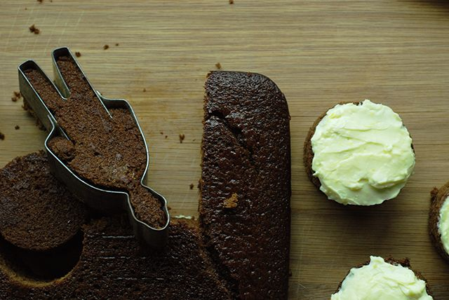 Sticky ginger cake with lemon frosting recipe from Fisher & Paykel Social Kitchen