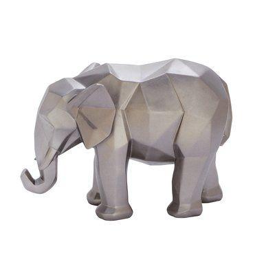 Cole & Grey Polystone Elephant Figurine