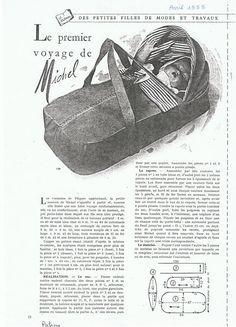 PAR AMOUR DES POUPEES :: M&T 1955-04 Premier voyage de Michel