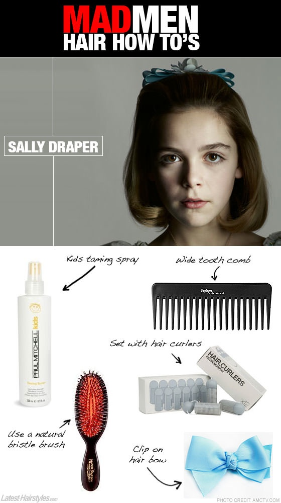 male pattern baldness hairstyles : Mad Men Hair - Learn how to get Sally Drapers hairstyle in a few ...