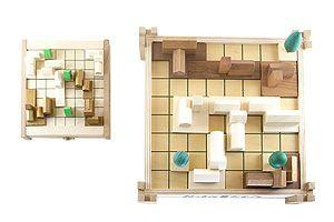 木製ボードゲーム「カステル」