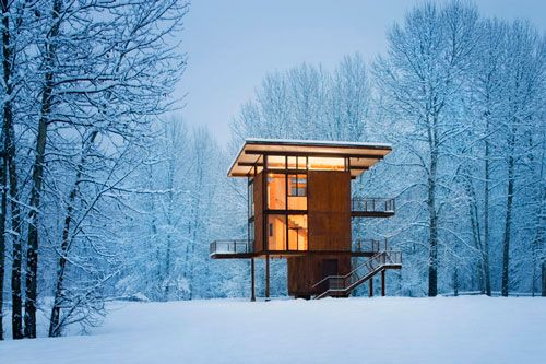 solidarity: Delta Shelters, Mountain Cabins, Architects, Dreams Houses, Modern Cabins, Living Large, Winter Cabins, Washington States, Olson Kundig