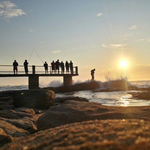 Uvongo Beach in Uvongo Beach, KwaZulu-Natal