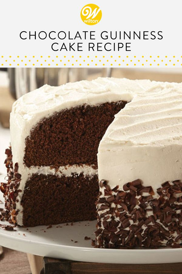 St  Patrick's Day Dessert: Guinness Chocolate Cake | The