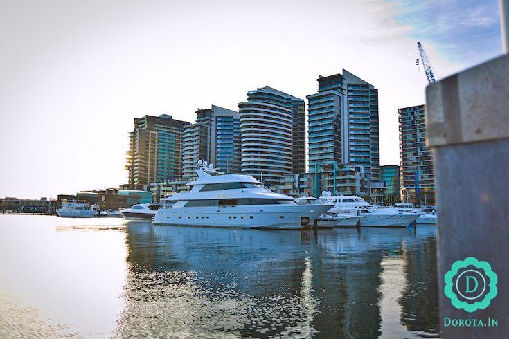 Docklands Melbourne - dzielnica biurowców oraz mieszkań niedaleko Southern Cross Station.  #travel #podróże #melbourne #australia