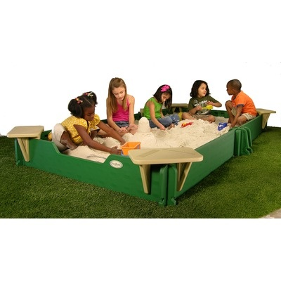Thinking about a sandbox for the backyard, but not sure if I want one this big...