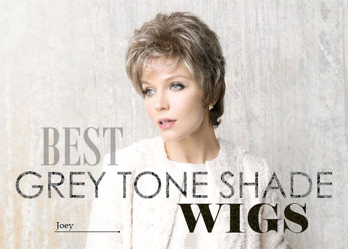 Favorite Grey Wigs in multiple variations of grey shades are available at Best Wig Outlet! Multiple Selections of Grey Shade Tones in stylish wigs!