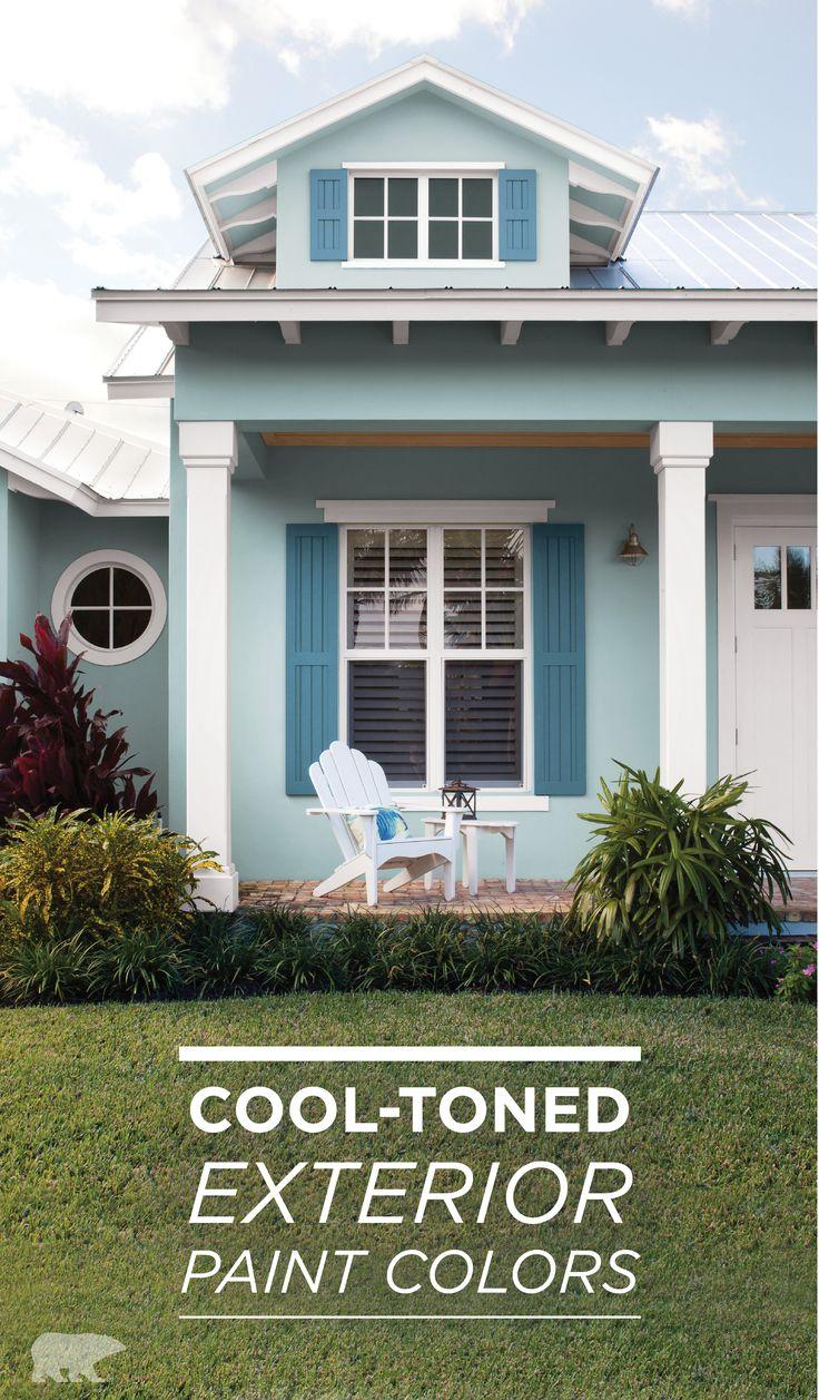 Superb Beach House Exterior Paint Colors Cottage Exterior Interior Design Ideas Helimdqseriescom