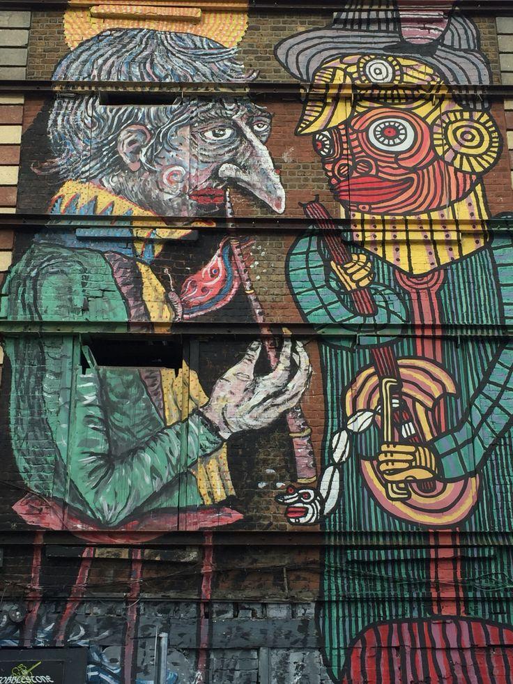 Building mural, Smithfield