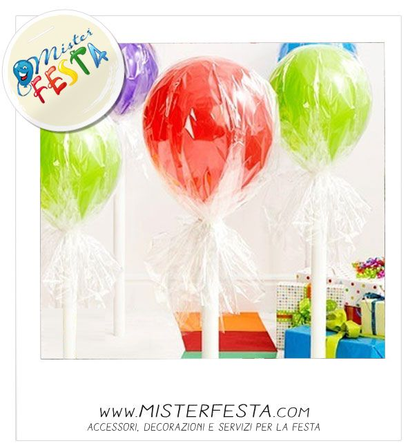 #lollipop giganti per un #sweet #party