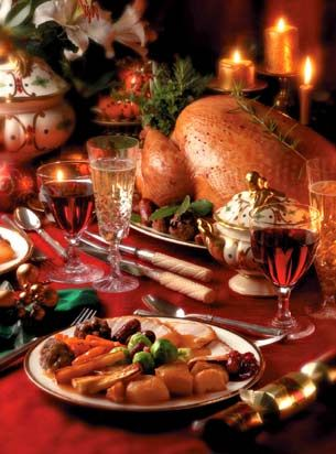 As crazy as it sounds, we'd love to have a big, old fashioned family Christmas at our place just once, with the in-laws coming from out of town for a day or two...and a beautiful traditional sit-down Welsh Christmas dinner.