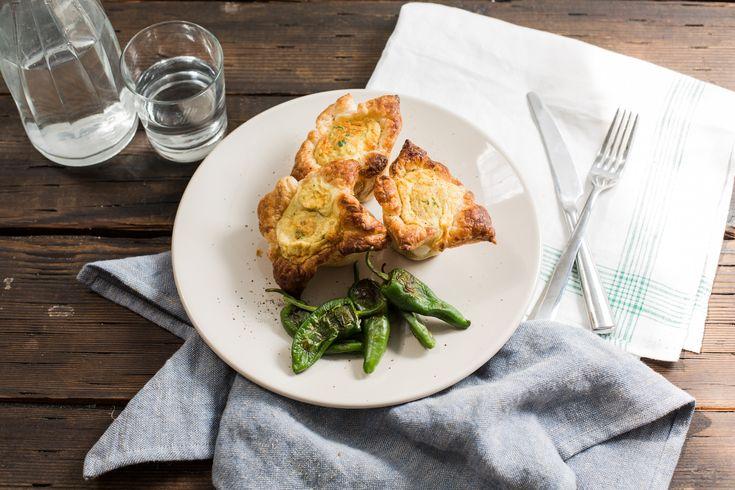 Mini-quiches met Manchego, artisjok & grillpaprika's
