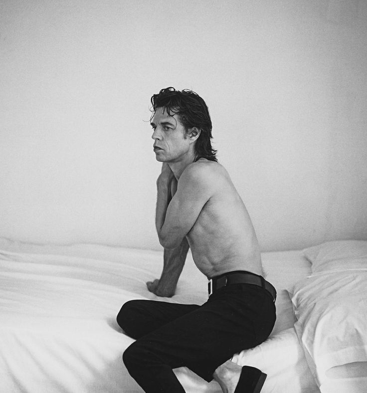Mick Jagger by Annie Leibovitz, 1992