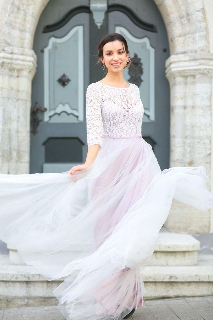Свадебное платье Кристальный топаз
