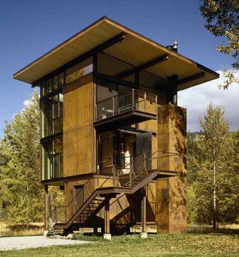 18 best modern cabin images on Pinterest Modern cabins