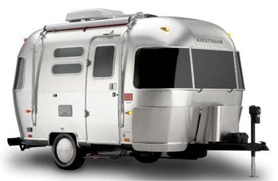 Retro Design Outside - Modern Amenities Inside! Airstream DWR Design Within Reach Travel Trailer exterior