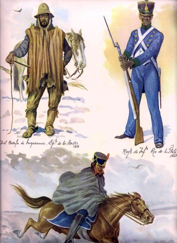 Miembros del Ejercito de Los Andes