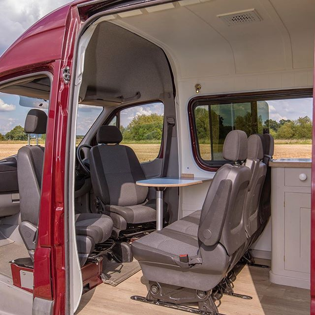 Exterior Shot Of The Volkswagenbus Conversion In A Lwb Crafter 3