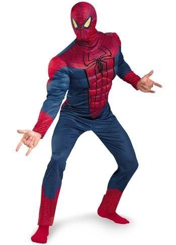 Взрослый костюм человека паука