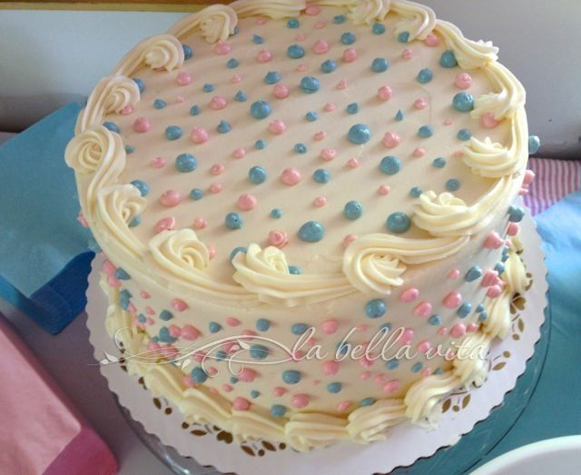 Baby Gender Reveal Party Ideas | La Bella Vita Cucina