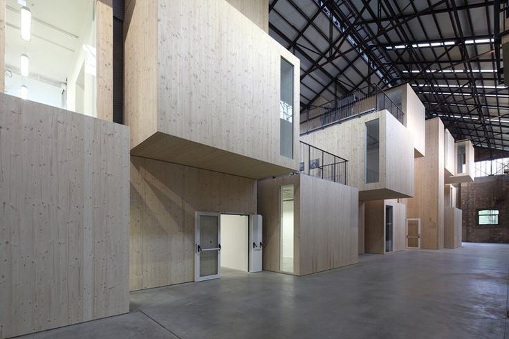 Technopole for industrial research requalification of Shed 19 in the old Officine Reggiane area, Reggio Emilia, 2014 - andrea oliva