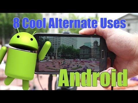 ▶ 8 cool alternate uses for an older Android smart phone! - YouTube