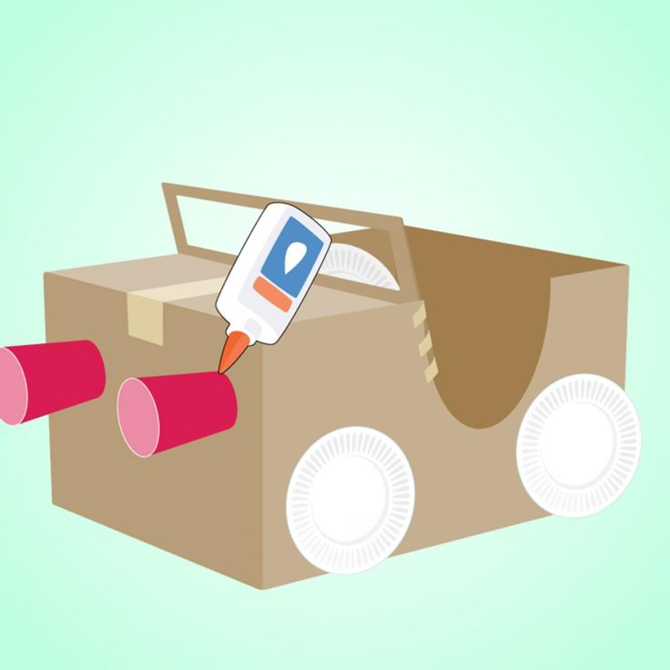 How to Make a Cardboard Box Car - parenting.com                                                                                                                                                                                 More