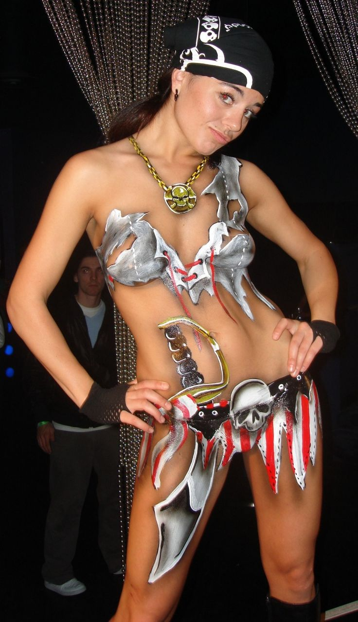 erotic bodypaint Exotic