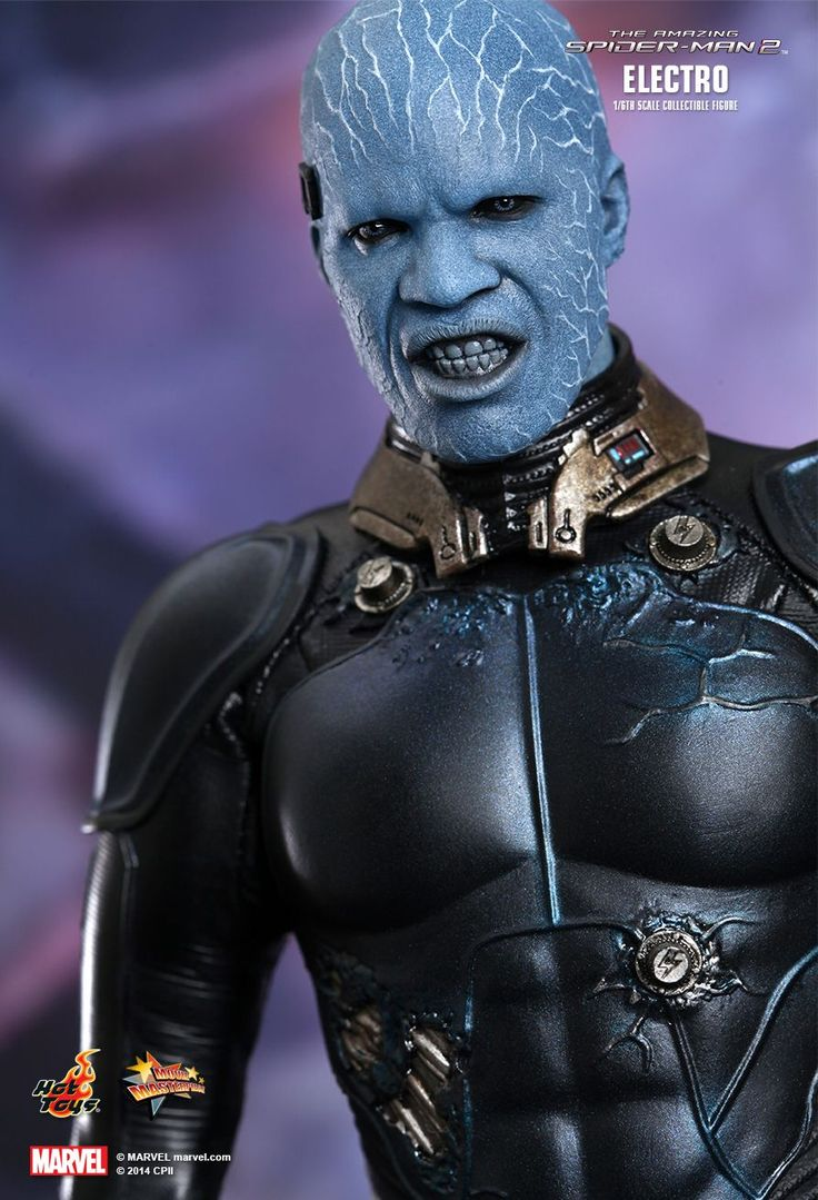 Hot Toys : The Amazing Spider-Man 2 - Electro 1/6th scale Collectible Figure
