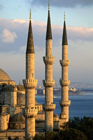 Visited this beauty on our July vacation--Blue Mosque in Istanbul.  -Sherrie