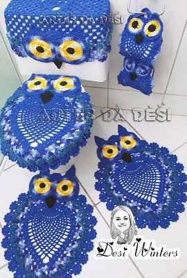 Wound like this crochet owl sets in lnglish or spanlsh.