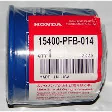 15400-PFB-014 HONDA 8 -50 pk   Olie Filters   Online-Outboard-Parts