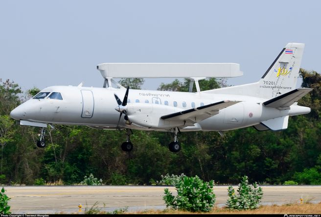 Royal Thai Air Force Saab 340 AEW